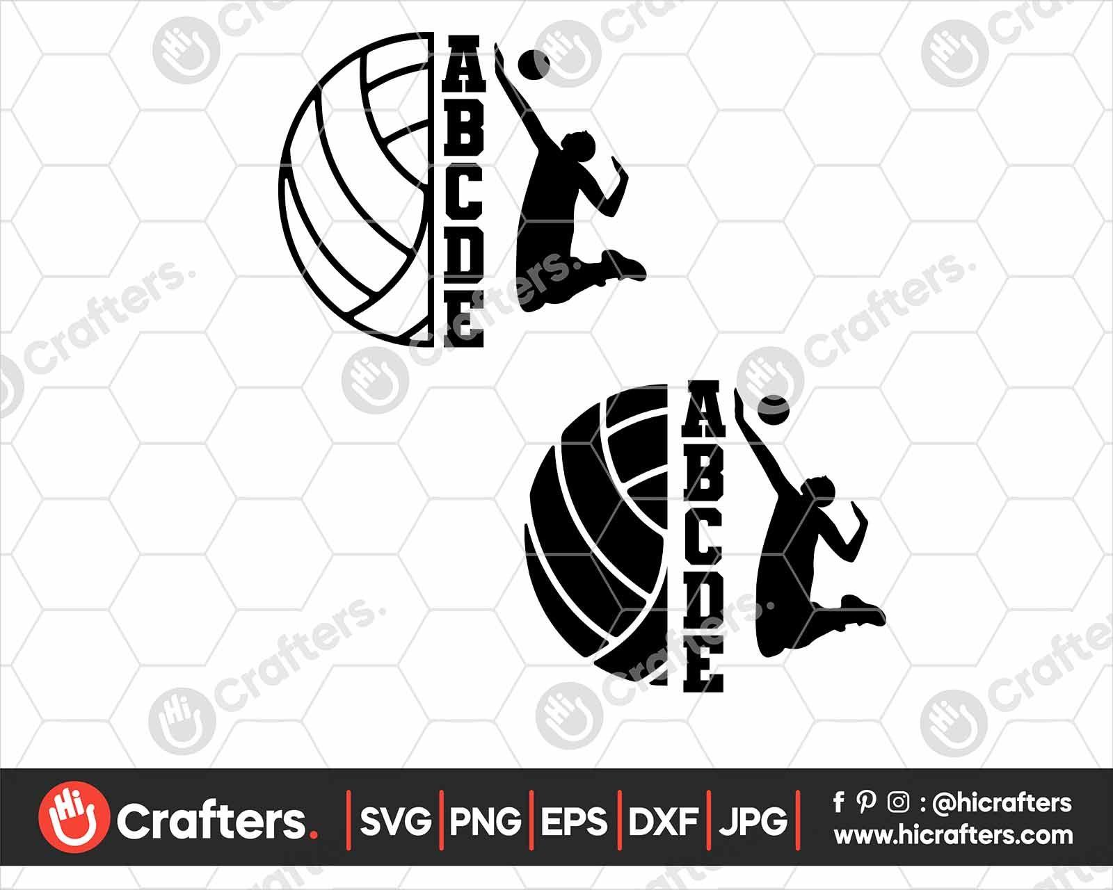 Split Volleyball Svg Volleyball Svg Design Hi Crafters In 2020 Svg Design Svg Design