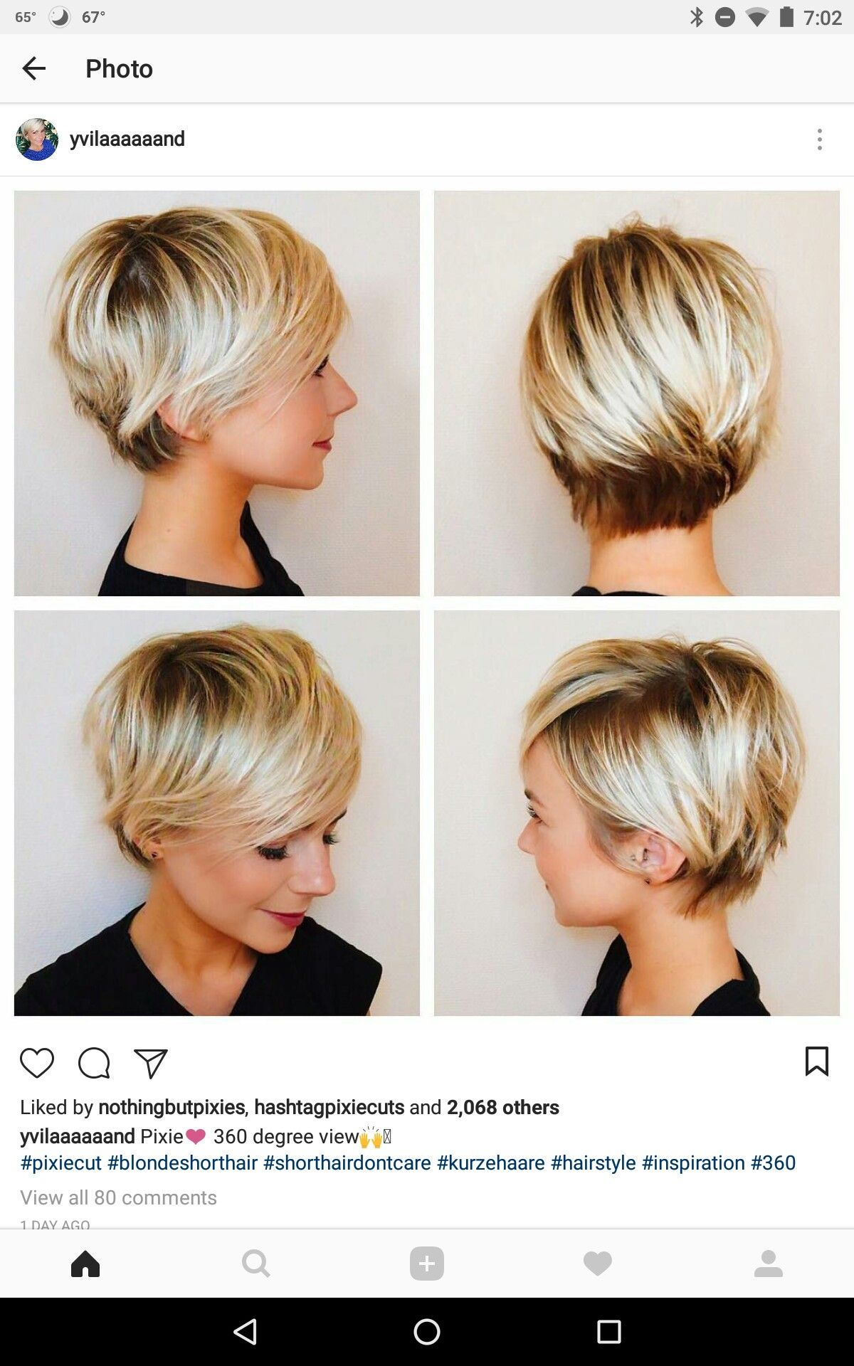 Pin by Emina Kh on Hair  Longer pixie haircut, Thick hair styles