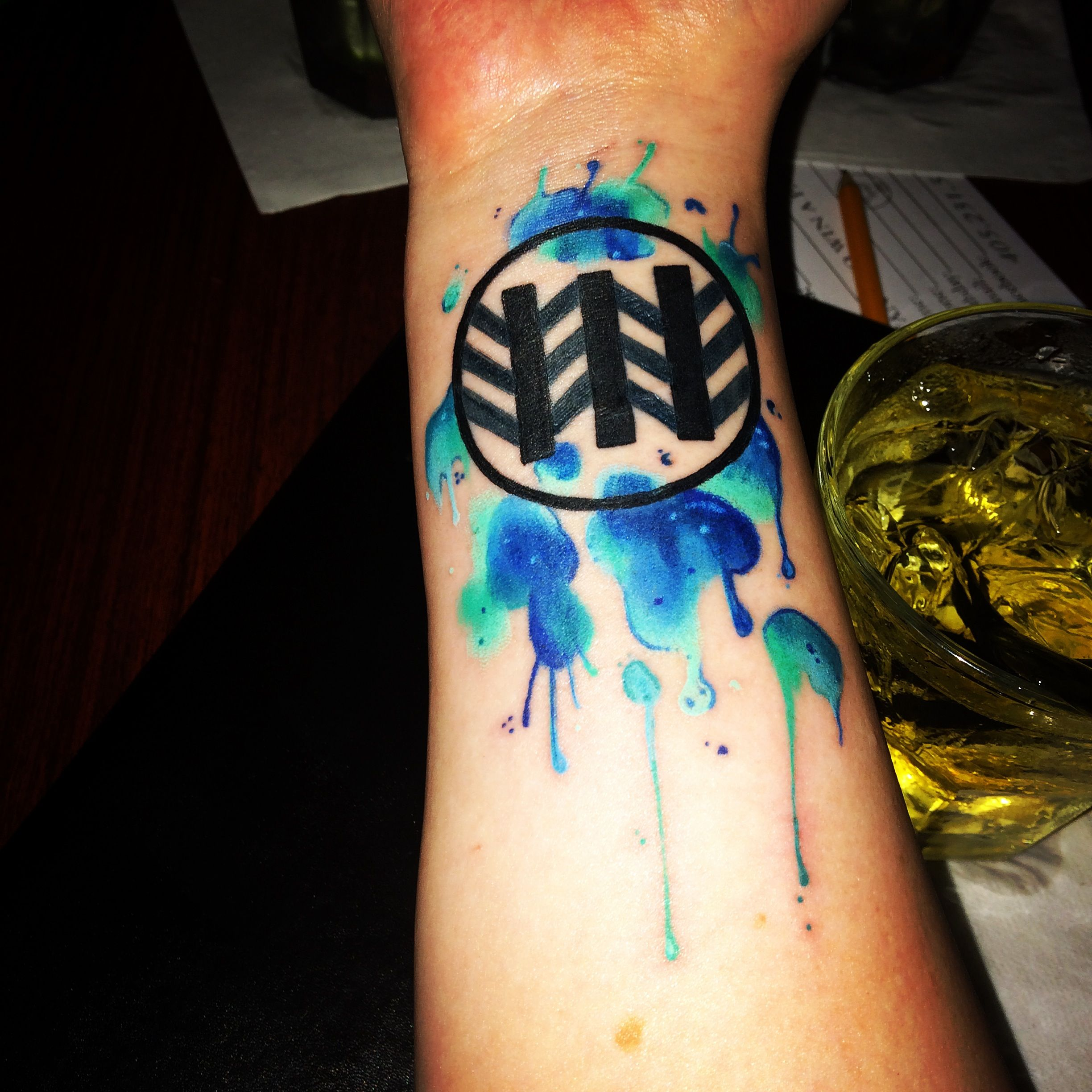 My Own Personal Jack White Tattoo.