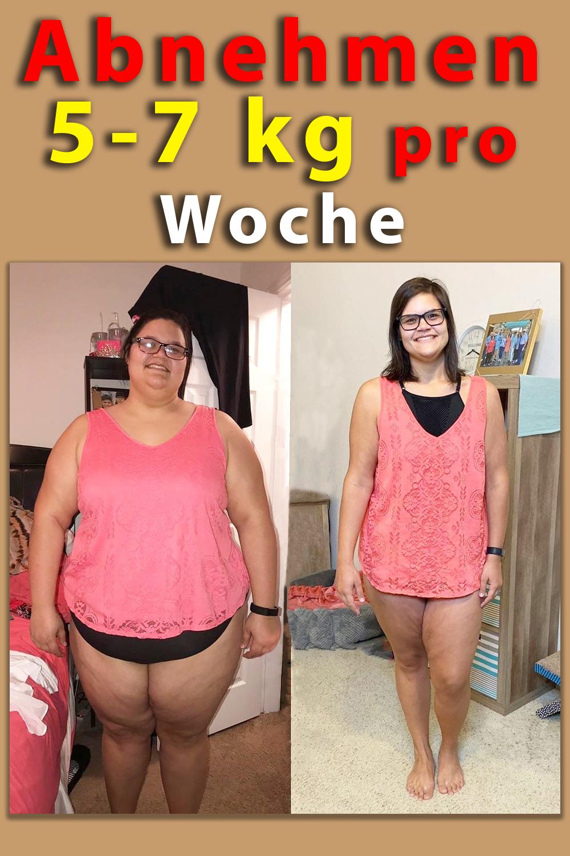 Diät zum Abnehmen 5 kg pro Woche