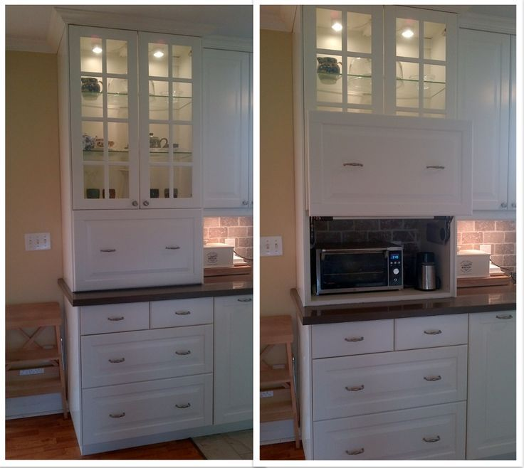 This IKEA kitchen hack can be so many things! A coffee station, kids ...