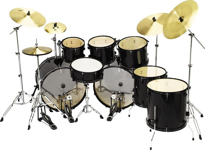 Pro 8 Piece Double Bass Drum Set Things I Want Double