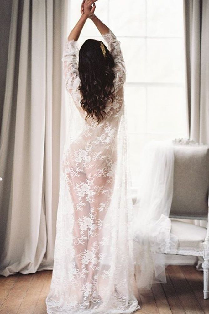 30 Bridal Robes For Your Ideal Wedding Day | Robe, Lingerie and Weddings