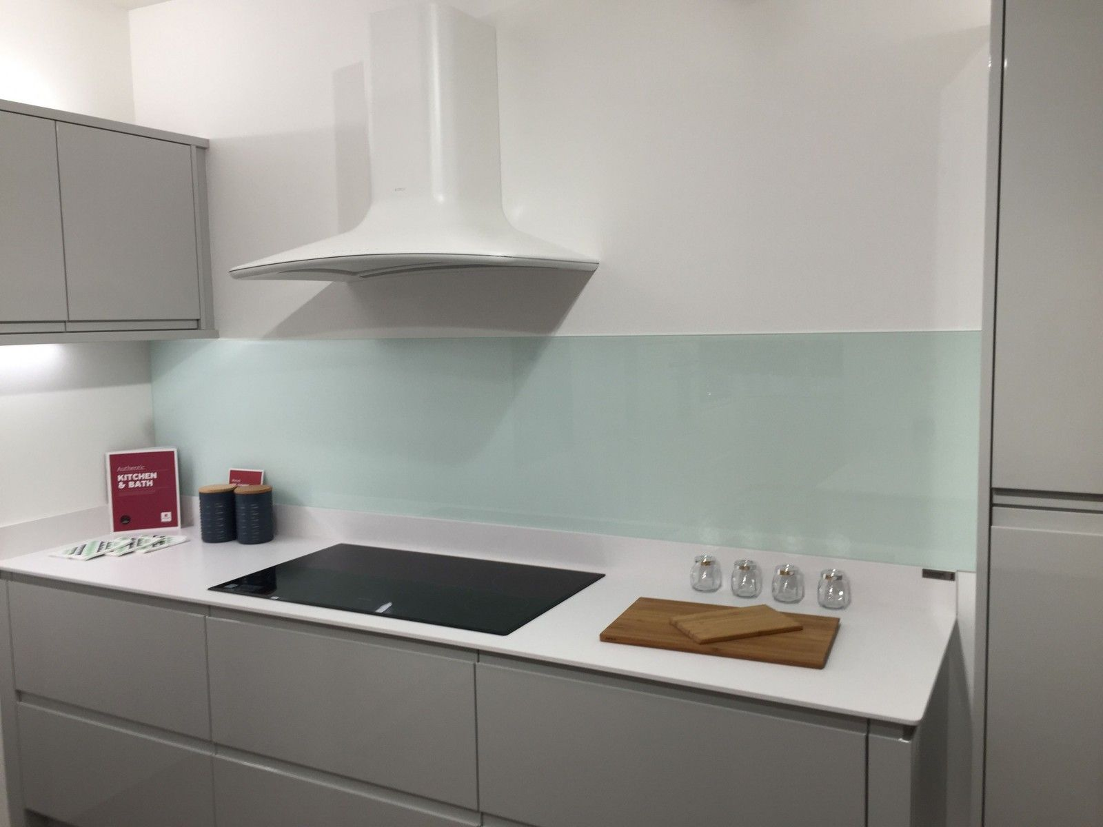Painted Kitchen Glass Splashback, Glacier   Natural Glass, Available In Any  Size Or Shape To Suit Your Kitchen. Part 97