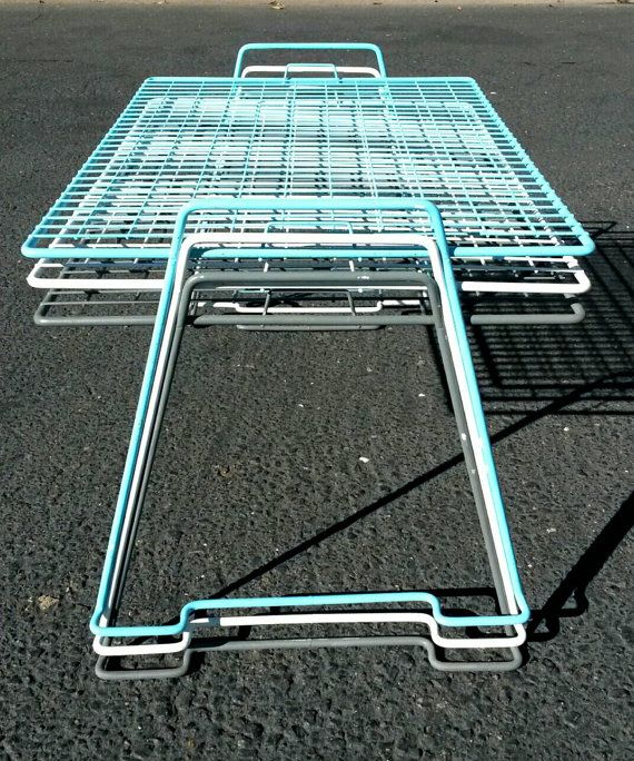 Stackable Tables Vintage Wire - WIRE Center •