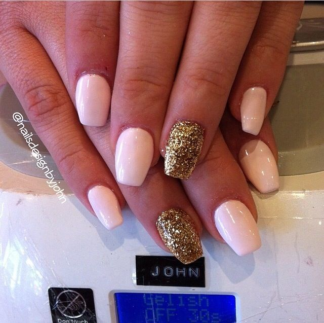 Bf0c4dee6b2e0197245868c73b89384e Jpg 640 637 Short Coffin Nails Ballerina Nails Nails