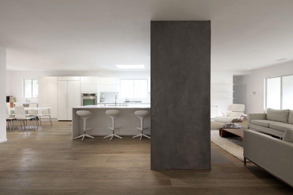 Hayvenhurst House Concrete Pillar Design
