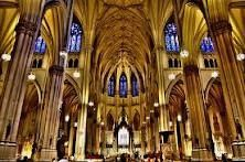 St. Patrick's Cathedral.  I love stopping in here along my 5th Ave. walks.