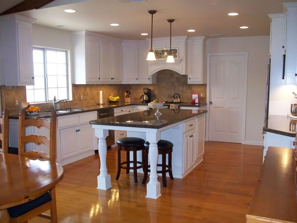 Image result for seating at narrow kitchen island | kitchen island ...