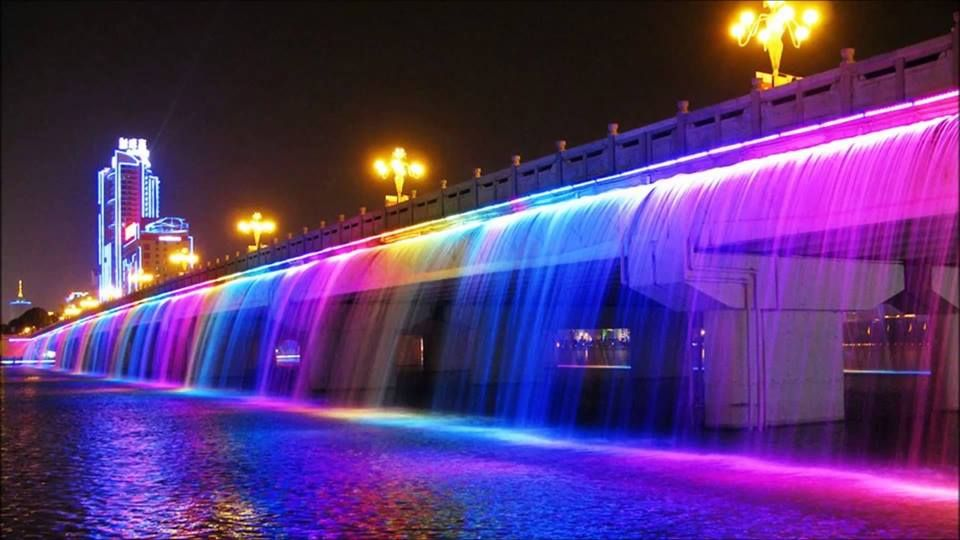 Top 10 Most Expensive Fountains: Moonlight Rainbow Fountain