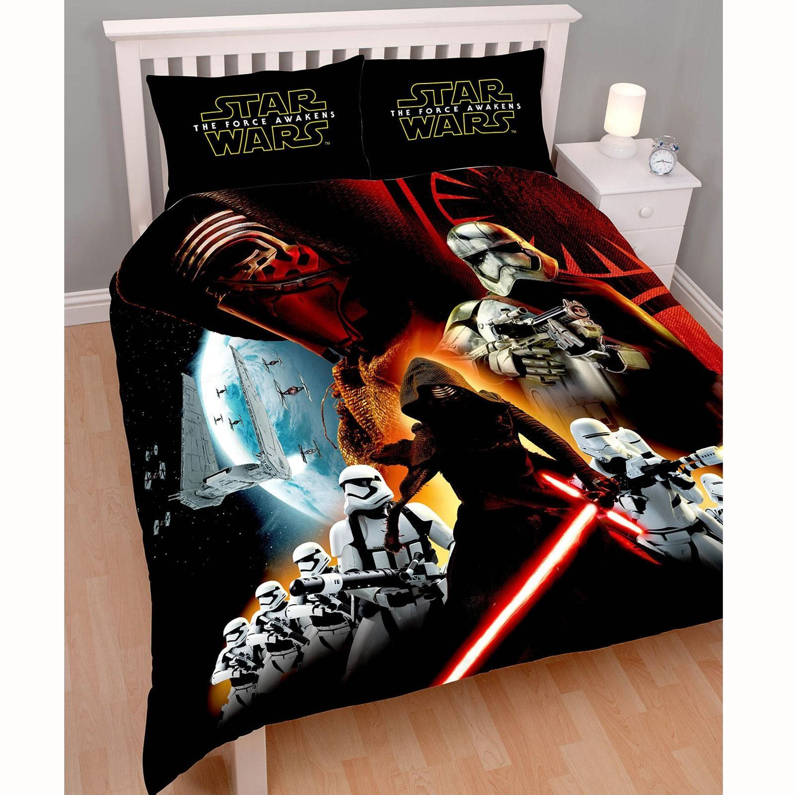Double Bed Assassin/'s Creed Serve The Light Double Reversible Duvet Cover Set