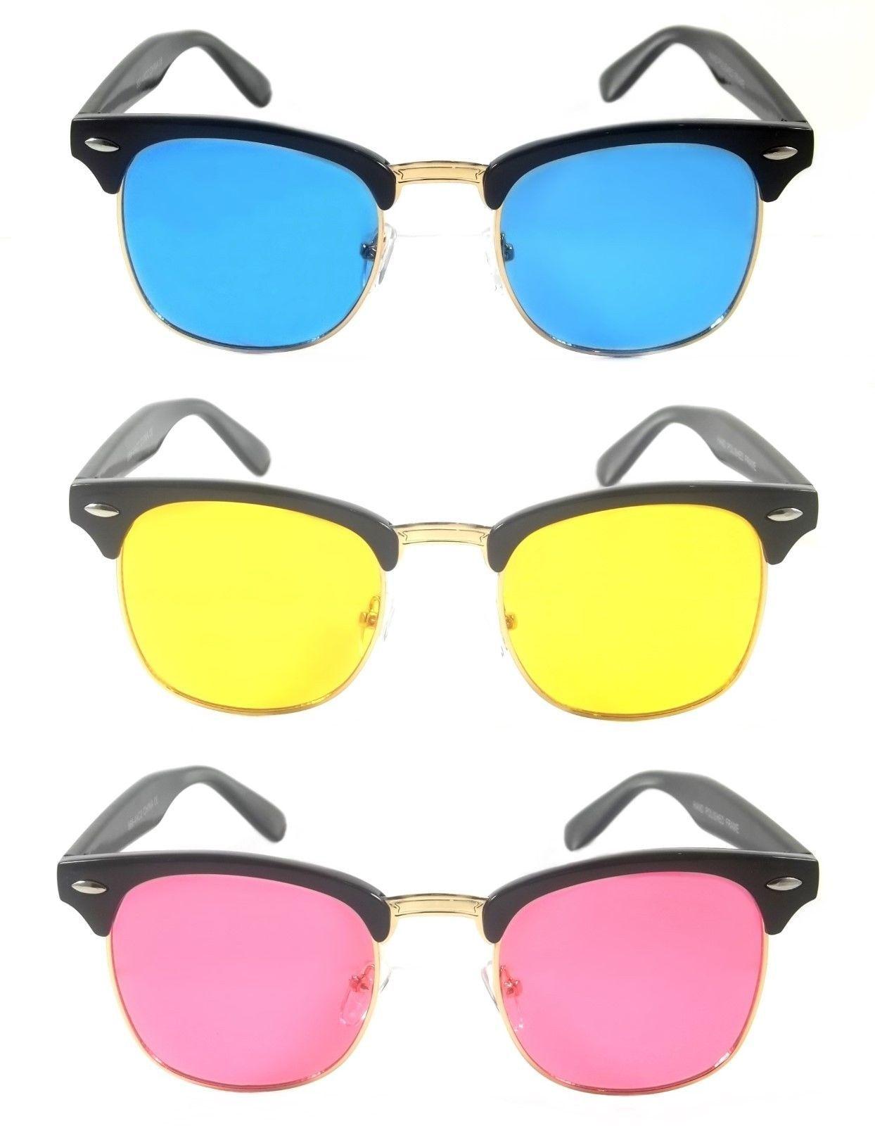 $9.95 - Retro Club-Master Sunglasses Men Women Hicks Vintage Style ...