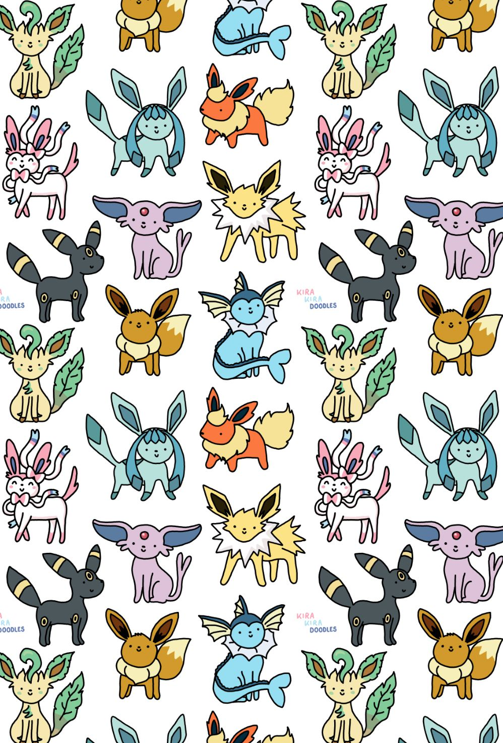 Cute Tumblr And Etsy Shop Eevee Wallpaper Pokemon Iphone
