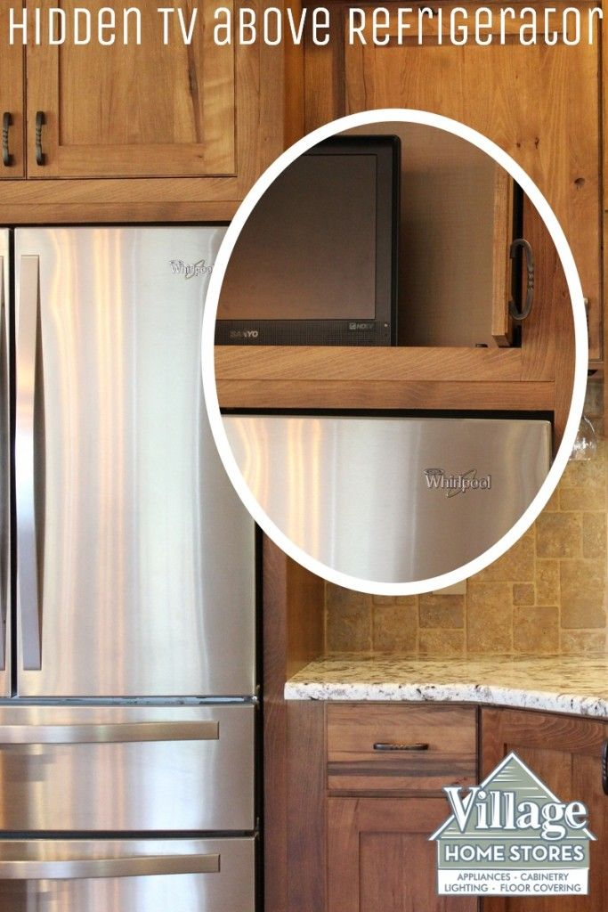 Kitchen Cabinets Quad Cities tv above refrigerator | refrigerator | pinterest | refrigerator