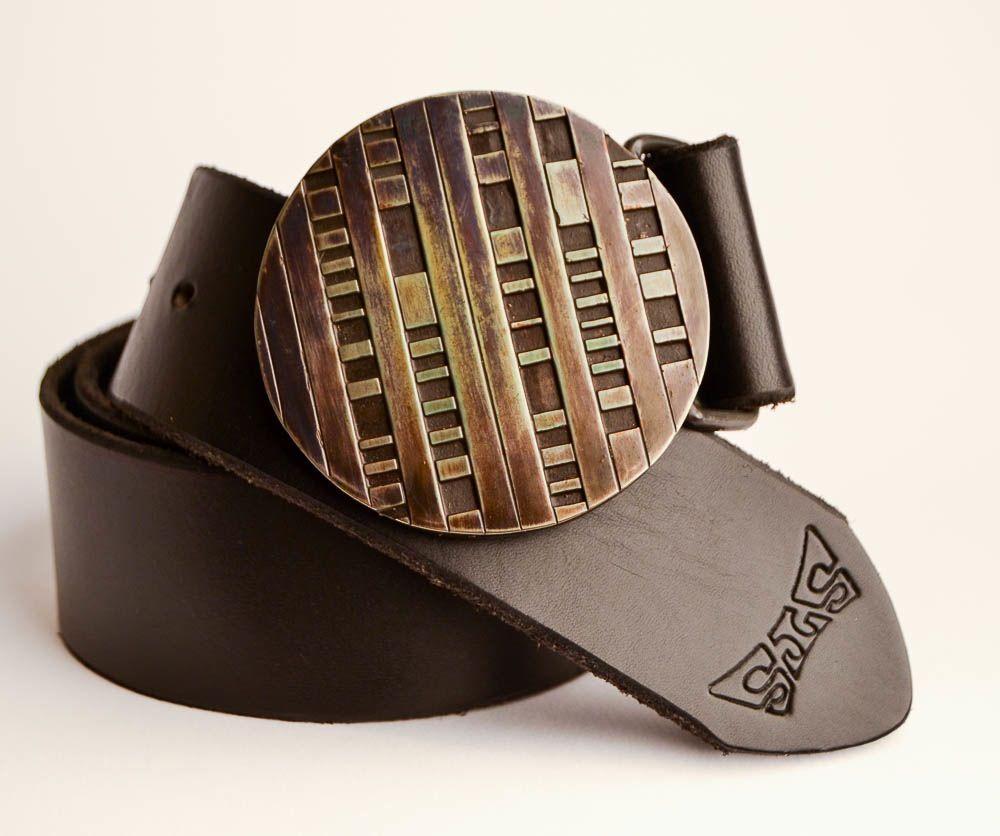 Bronze disc buckle belt buckles bronze anniversary belt