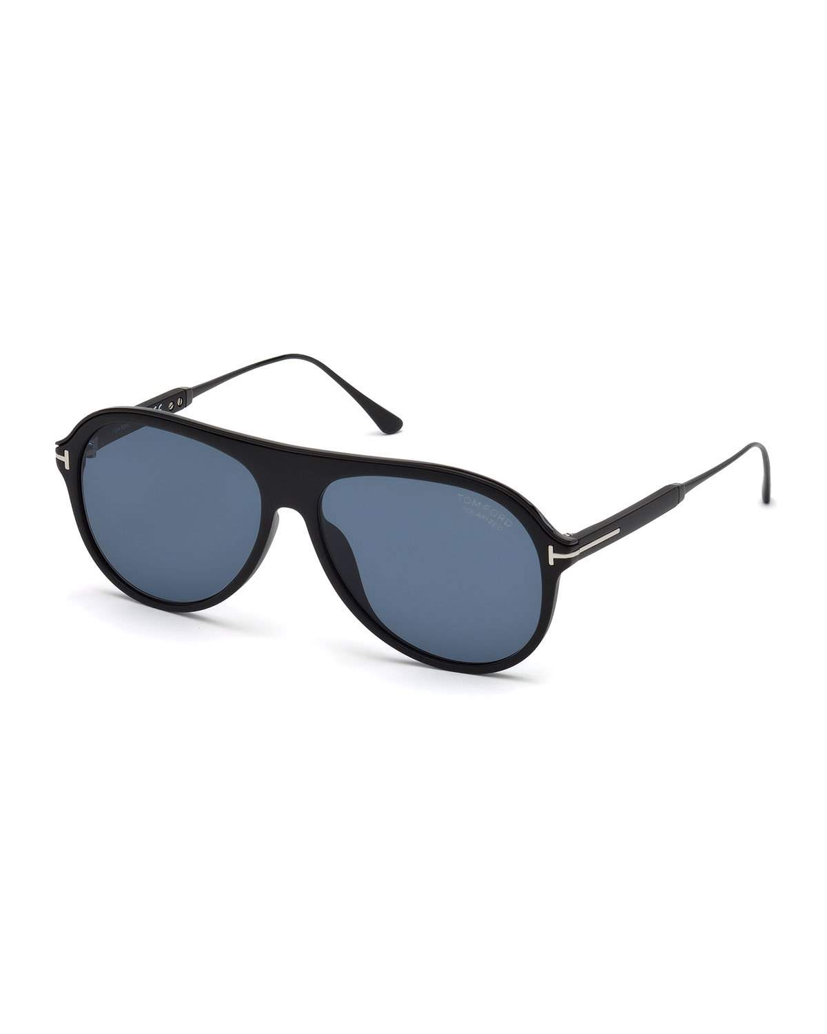 f65c5539da12 Tom Ford Men s Shield Acetate Sunglasses