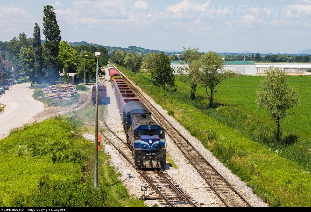 2062 055 Croatian Railways Emd G26c At Zapre Ic Croatia By Zagi988 Croatia Croatian Railroad Tracks