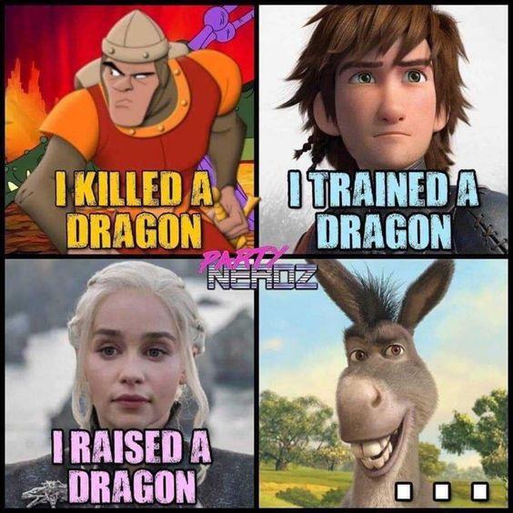 A Dragon Meme