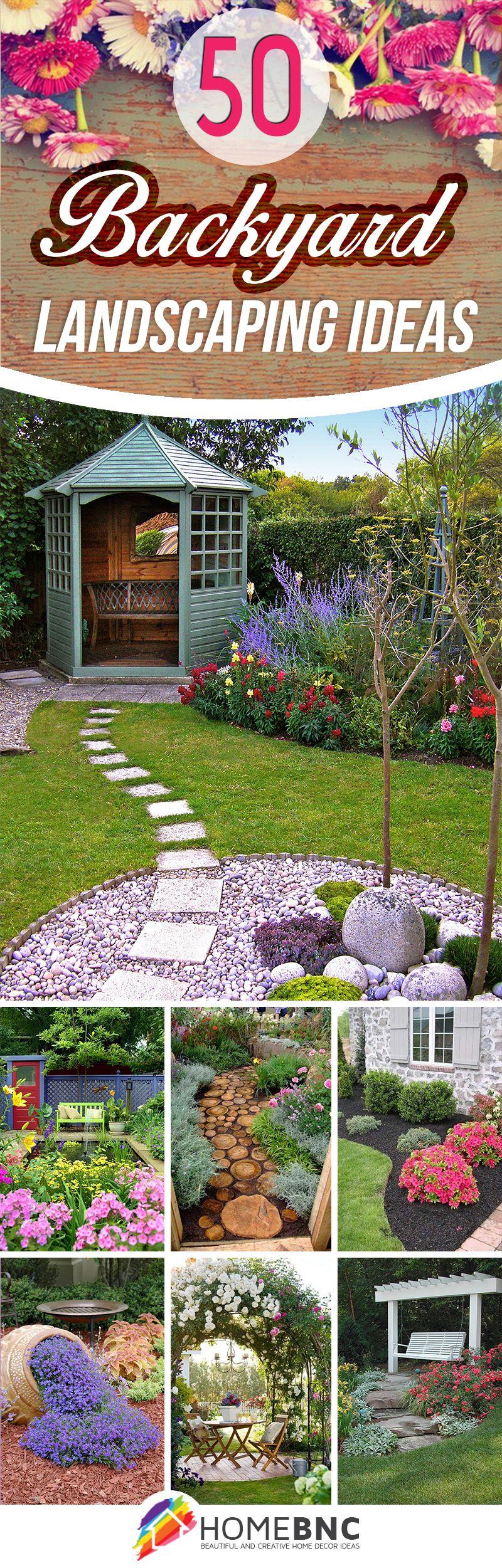 50 Backyard Landscaping Ideas that Will Make