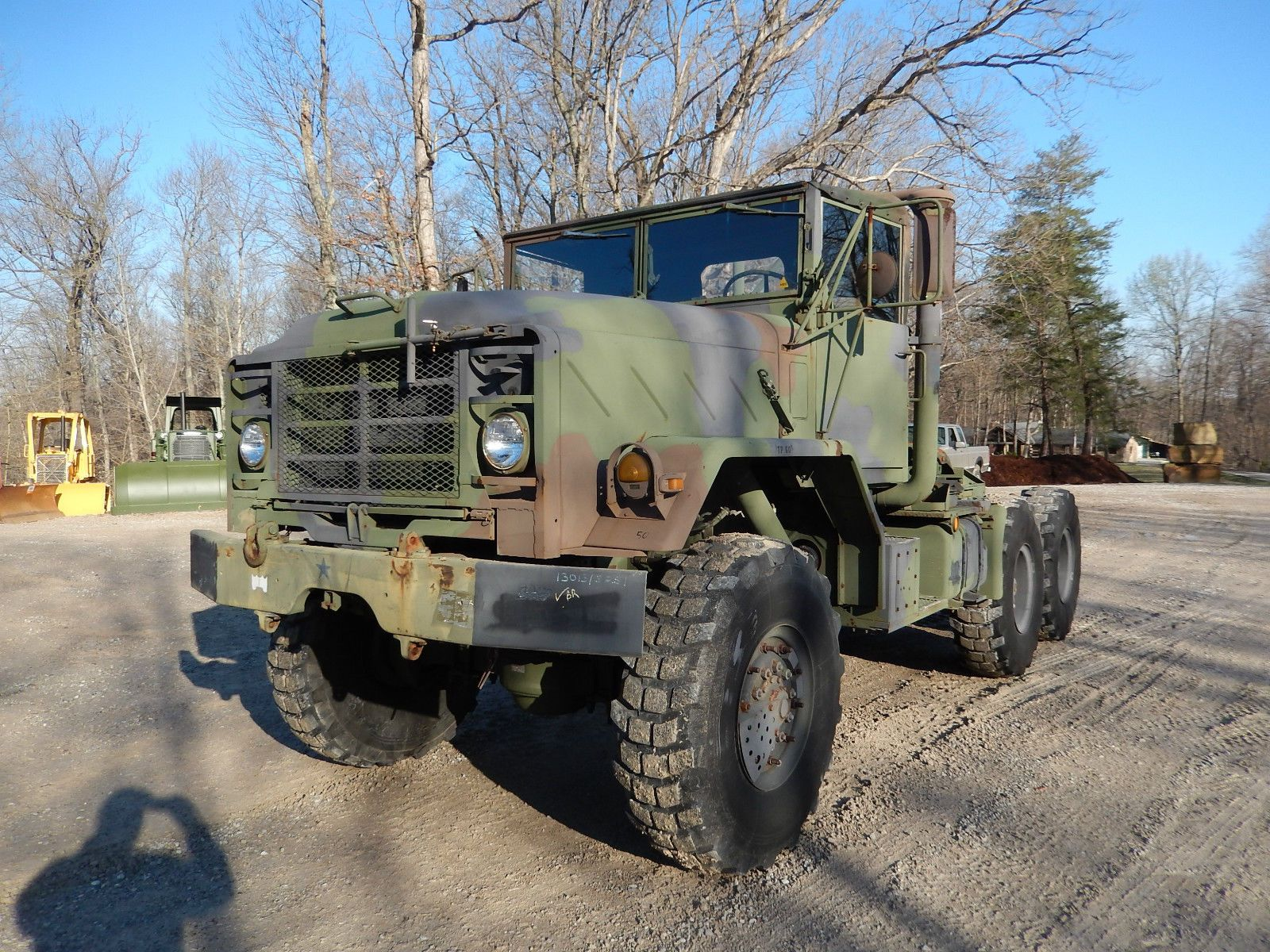 1990 am general 5 ton m931a2 semi truck