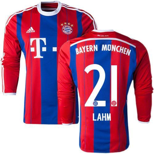 super popular eaf2a c5e44 Adidas philipp lahm bayern munich long sleeve home jersey ...