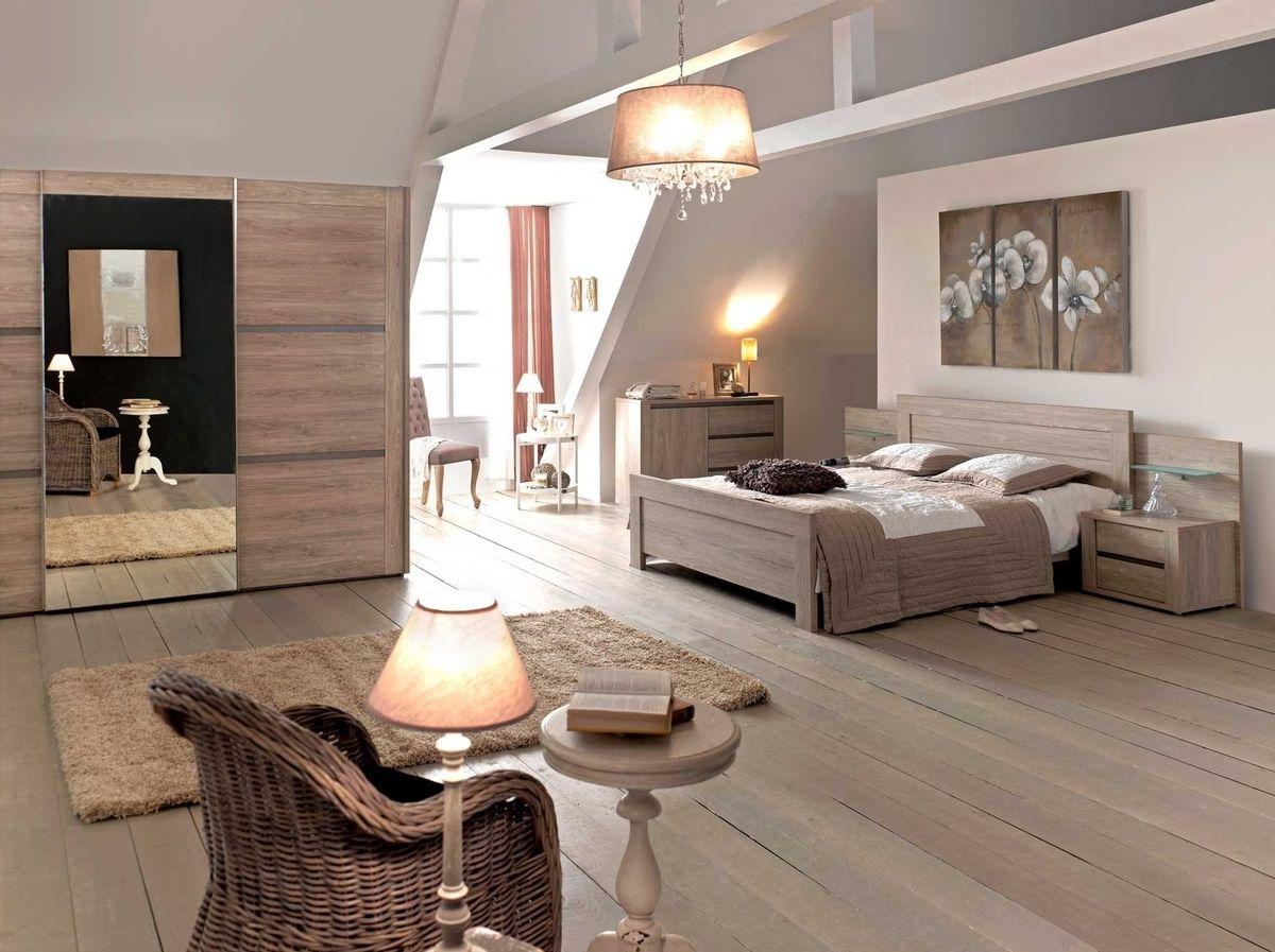 Eigentijdse slaapkamer in lichtgrijs hout gero wonen klassiek