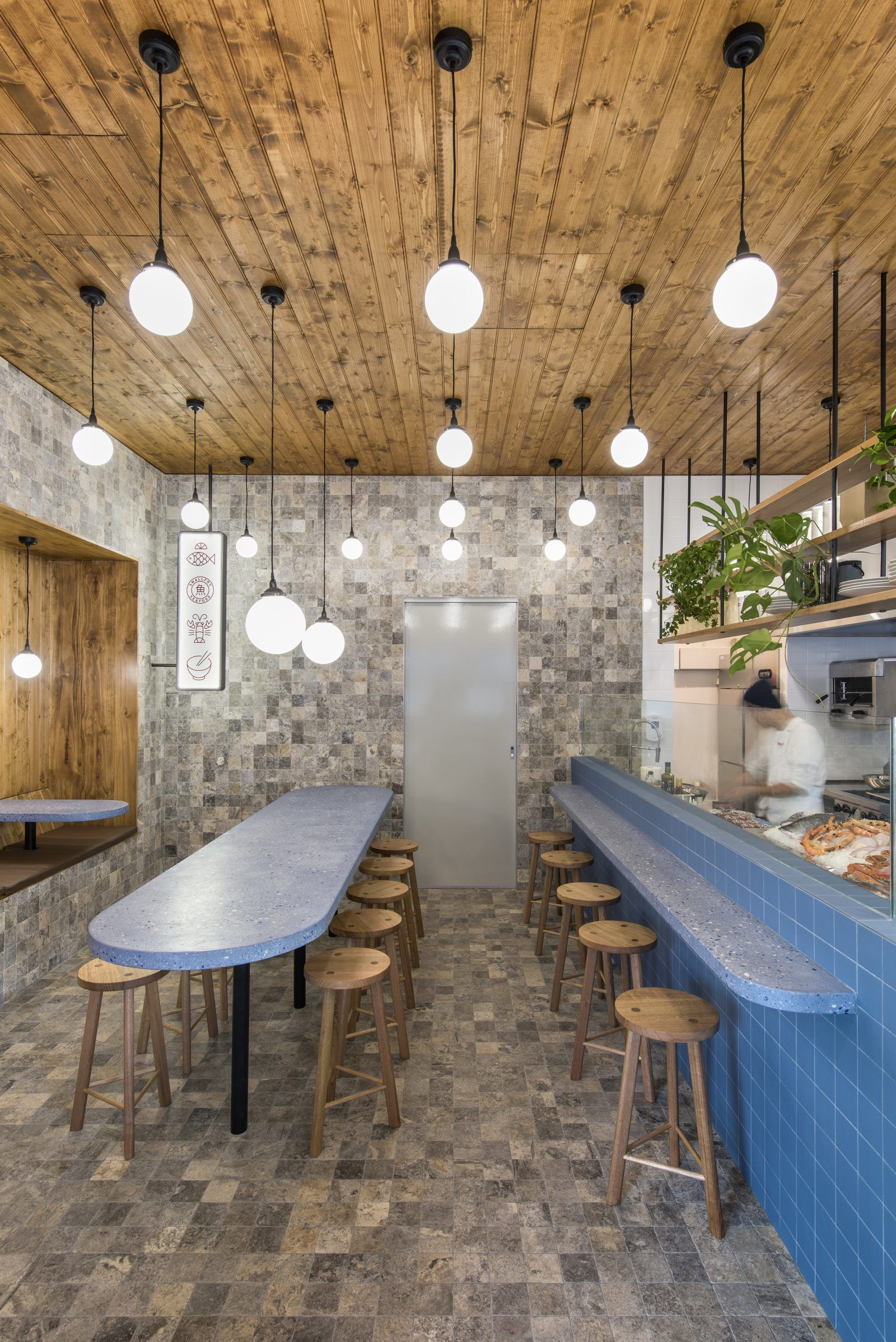 Sans Arc Studio Designs An Off Beat Fish And Chip Bar With A