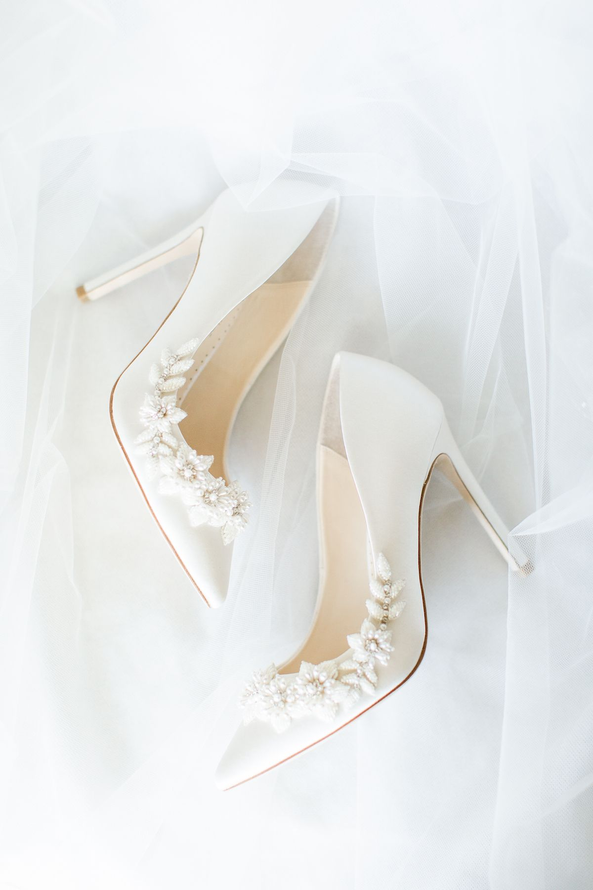 3d Floral Pearl Wedding Shoes Elegant Wedding Shoes Wedding Shoes Heels Wedding Shoes Brides Heels