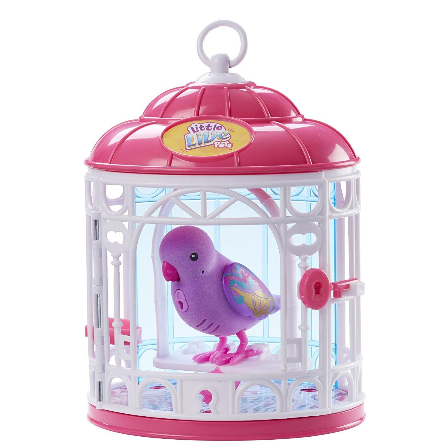 Little Live Pets Bird With Cage Dreamy Genie Little Live Pets
