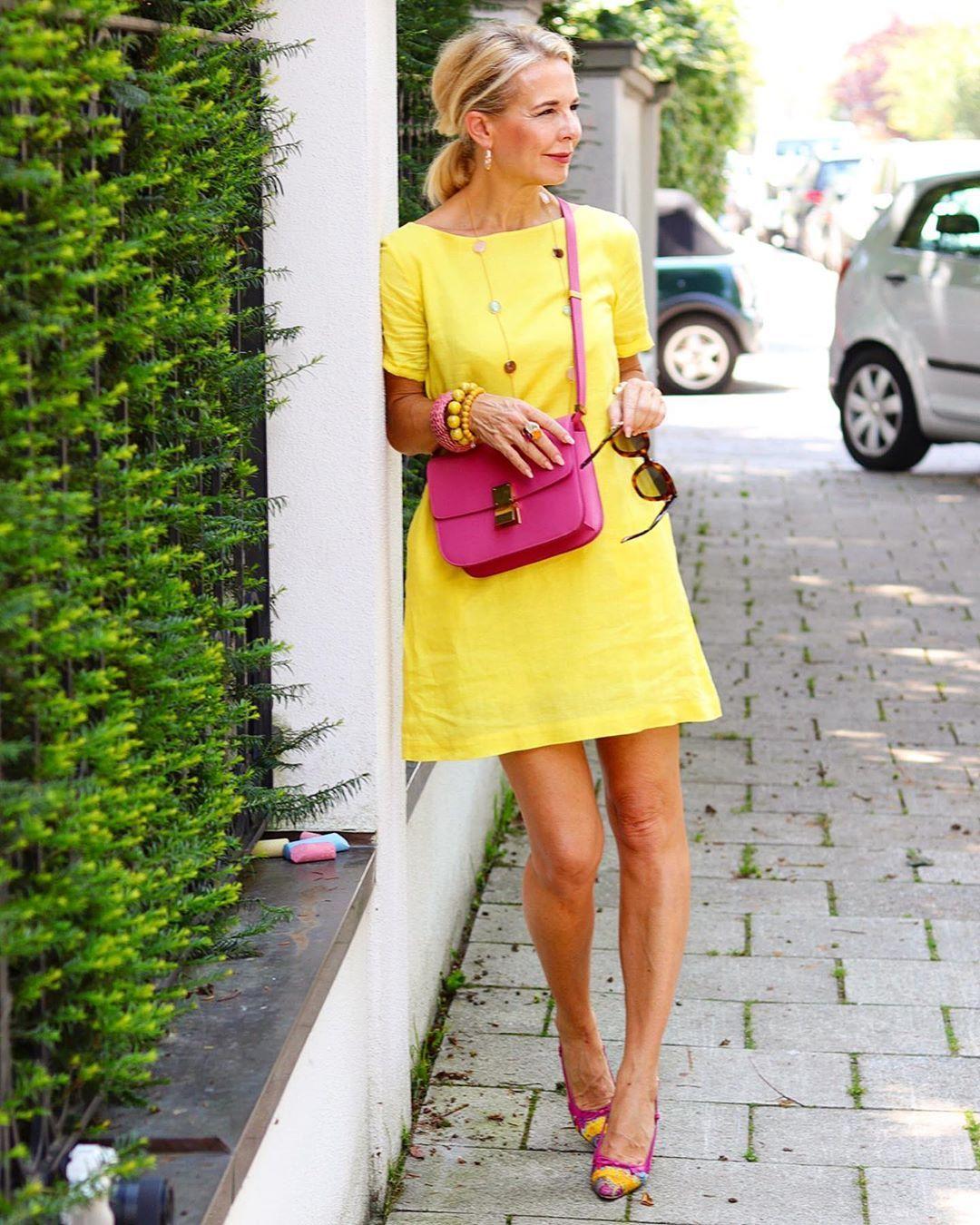 Farbe Puderrosa Richtig Kombinieren: Pin Auf Summer Fashion