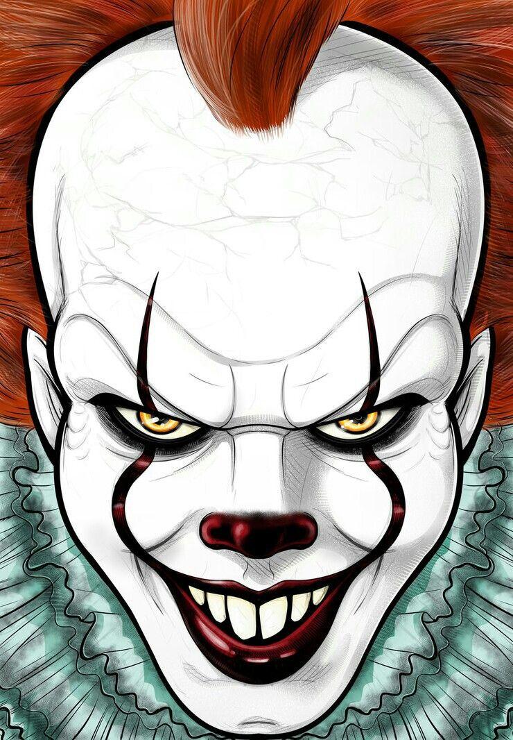 It 2017 It Movie Dessin Clown Dessins Effrayants Et