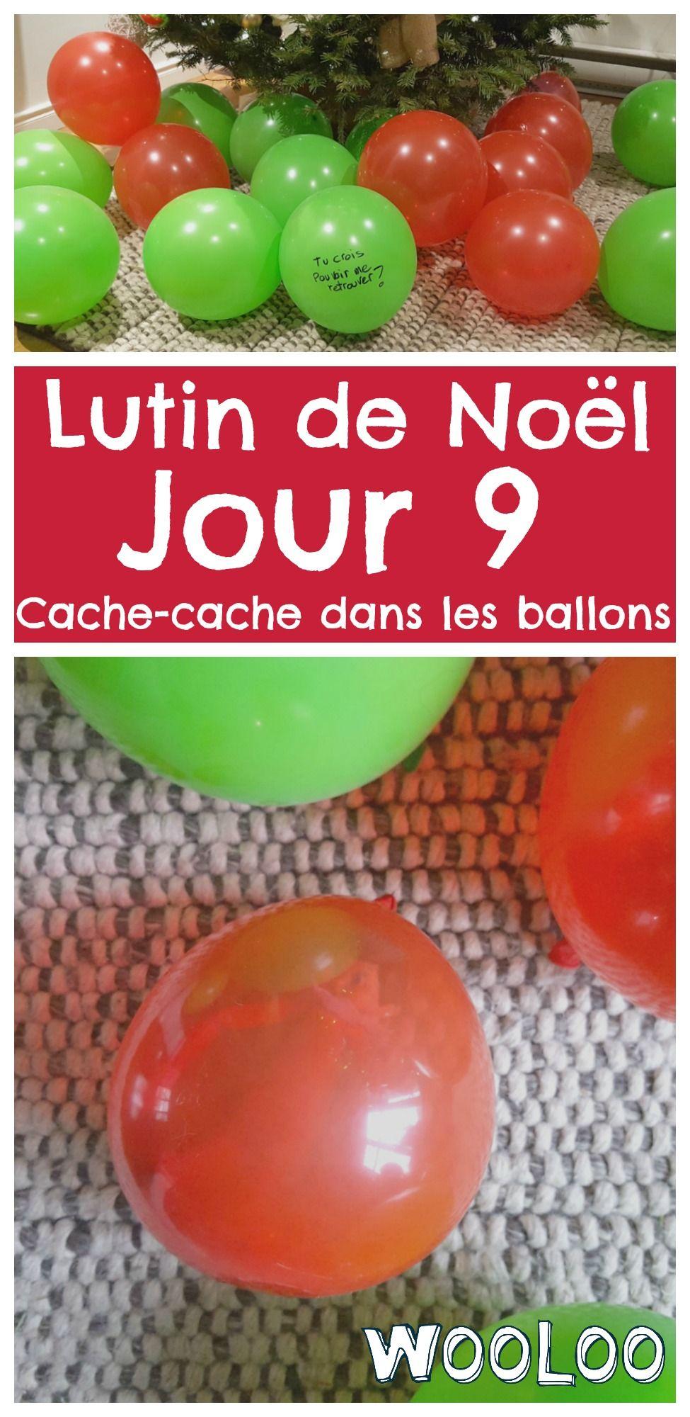 Les lutins jouent à cache-cache dans les ballons! Sauras-tu les retrouver? #lutin #elfontheshelf  #noel #christmas