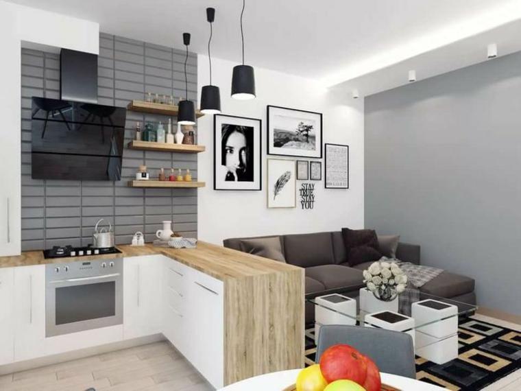 Home Design Ideeen : Interior design haus offene küchen zum wohnzimmer ideen für