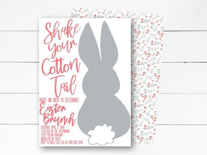 Easter brunch invitation easter invitation easter dinner easter brunch invitation easter invitation easter dinner invitation dinner party invitation easter stopboris Image collections