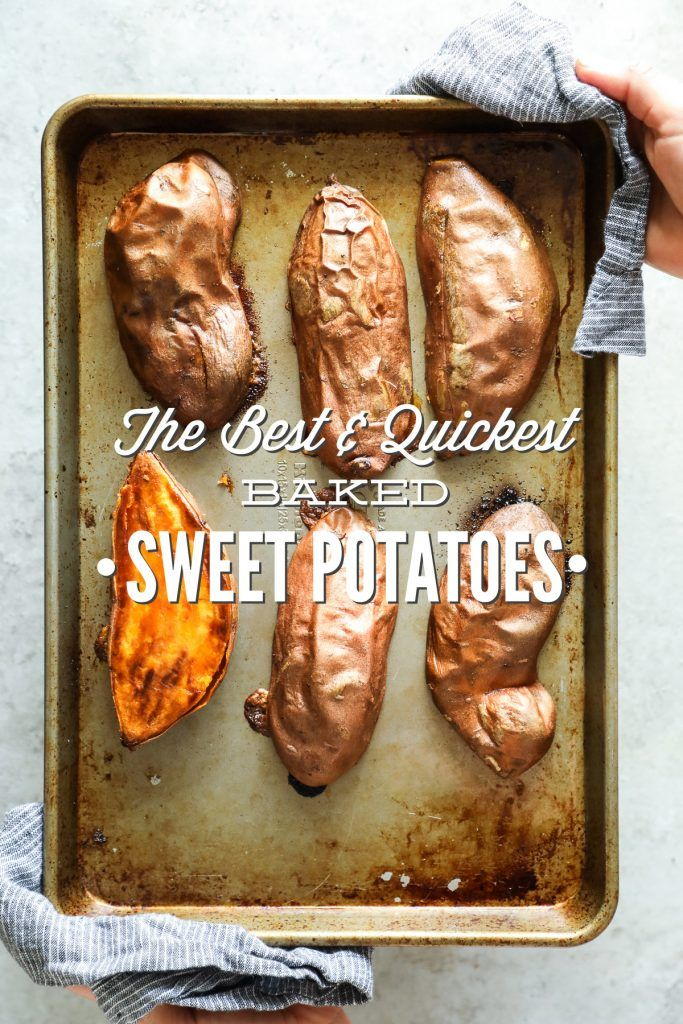 The Best And Quickest Baked Sweet Potatoes Live Simply Recipe Cooking Sweet Potatoes Sweet Potato Oven Baking Sweet