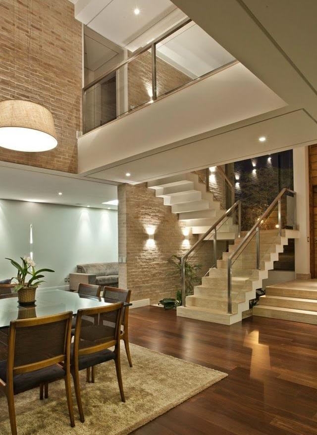 Escadas em balan o veja dicas e modelos modernos mais for Modelos de sala de casa