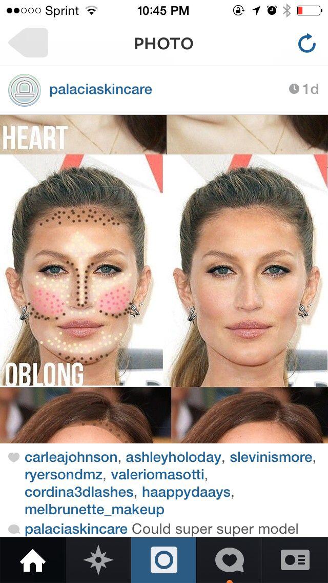 Contouring Concealer Face Gisele Bundchen Contour Makeup