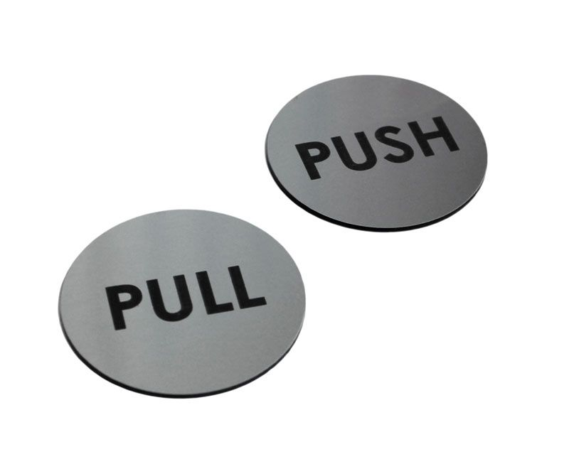 Acrylic Push And Pull Door Signs