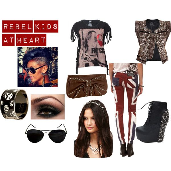 Rebel Kids At Heart, created by fashionstachristy on Polyvore
