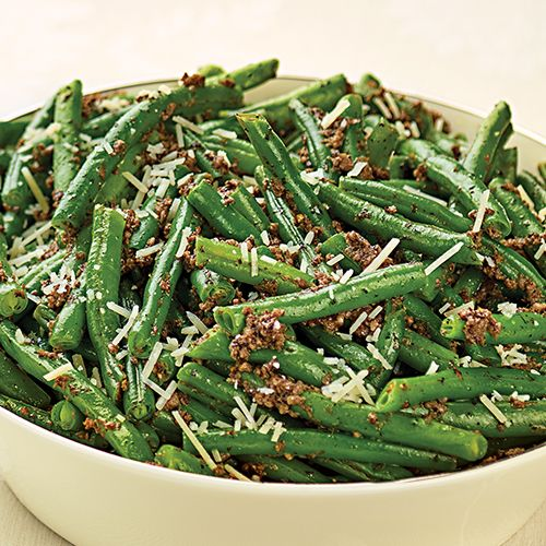 Truffled Green Beans | Recipe | Green beans, Beans and High fiber ...