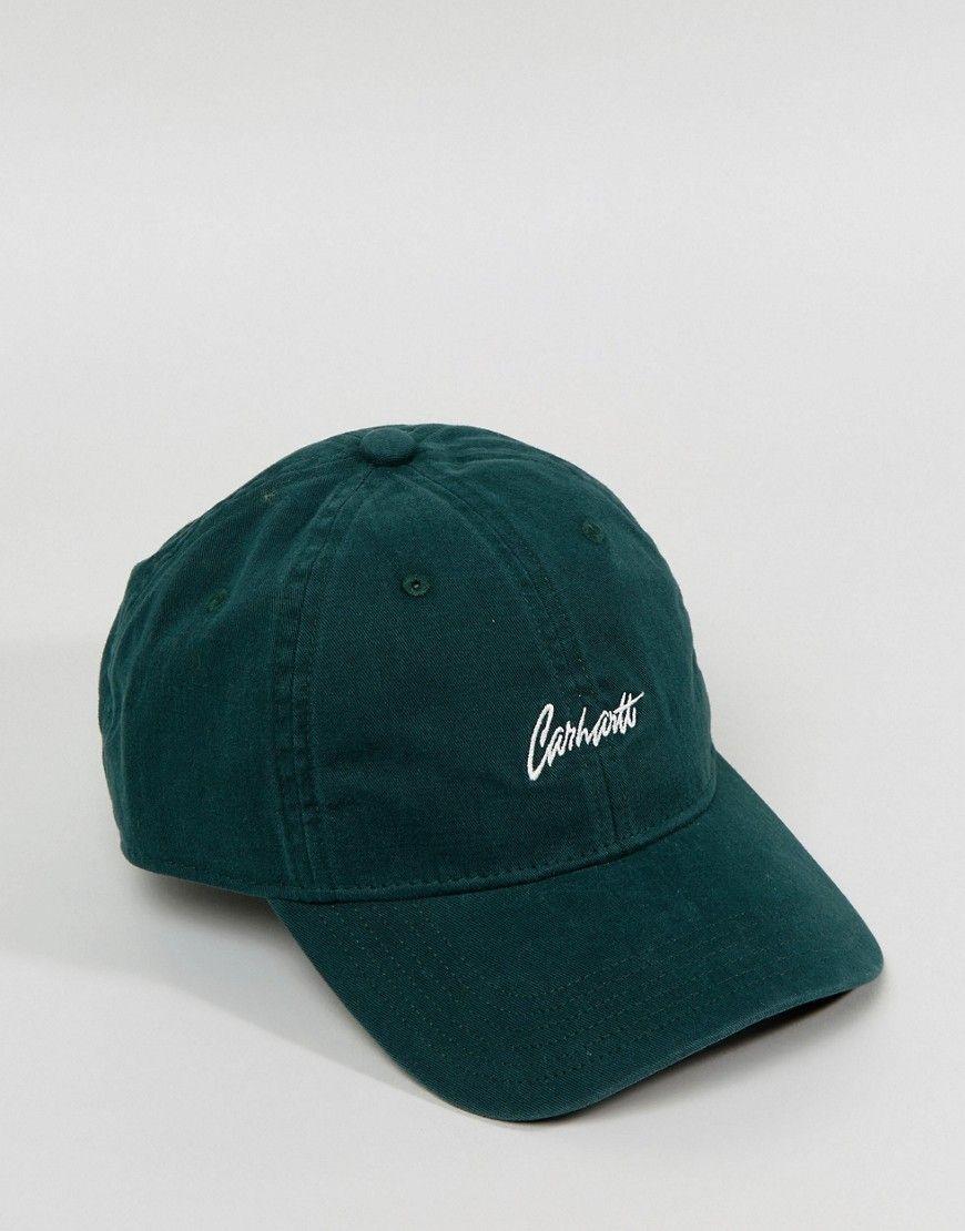 d46c47712e3 CARHARTT WIP STRAY 6 PANEL CAP - GREEN.  carhartt