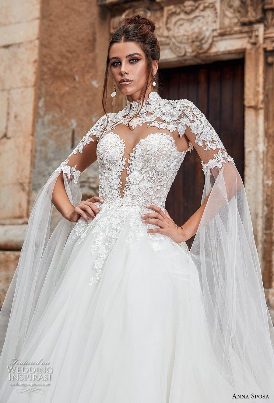 Lace dress with shorts underneath september 2019 Anna Sposa  Wedding Dresses u ucBella Siciliaud Bridal Collection