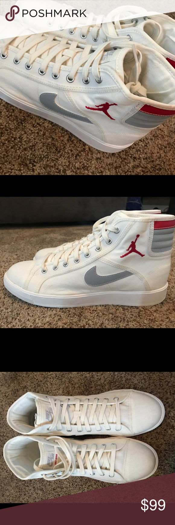 77a54abd15bc Nike Air Jordan Sky High OG Size 11 Air Jordan Skyhigh OG 819953 102  Manufacturer Sku 819953 102 Colorway SAIL GM RED-WOLF GREY New without Tags  Never worn ...