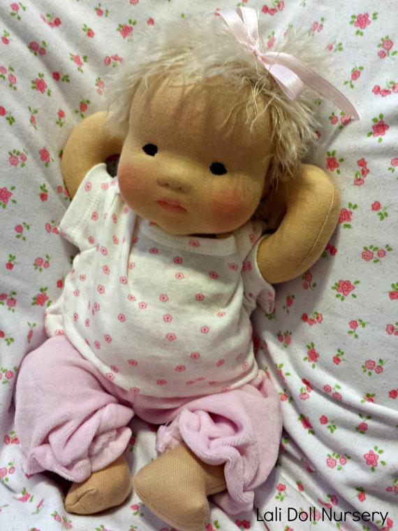 PDF PATTERN - Cloth Baby Doll