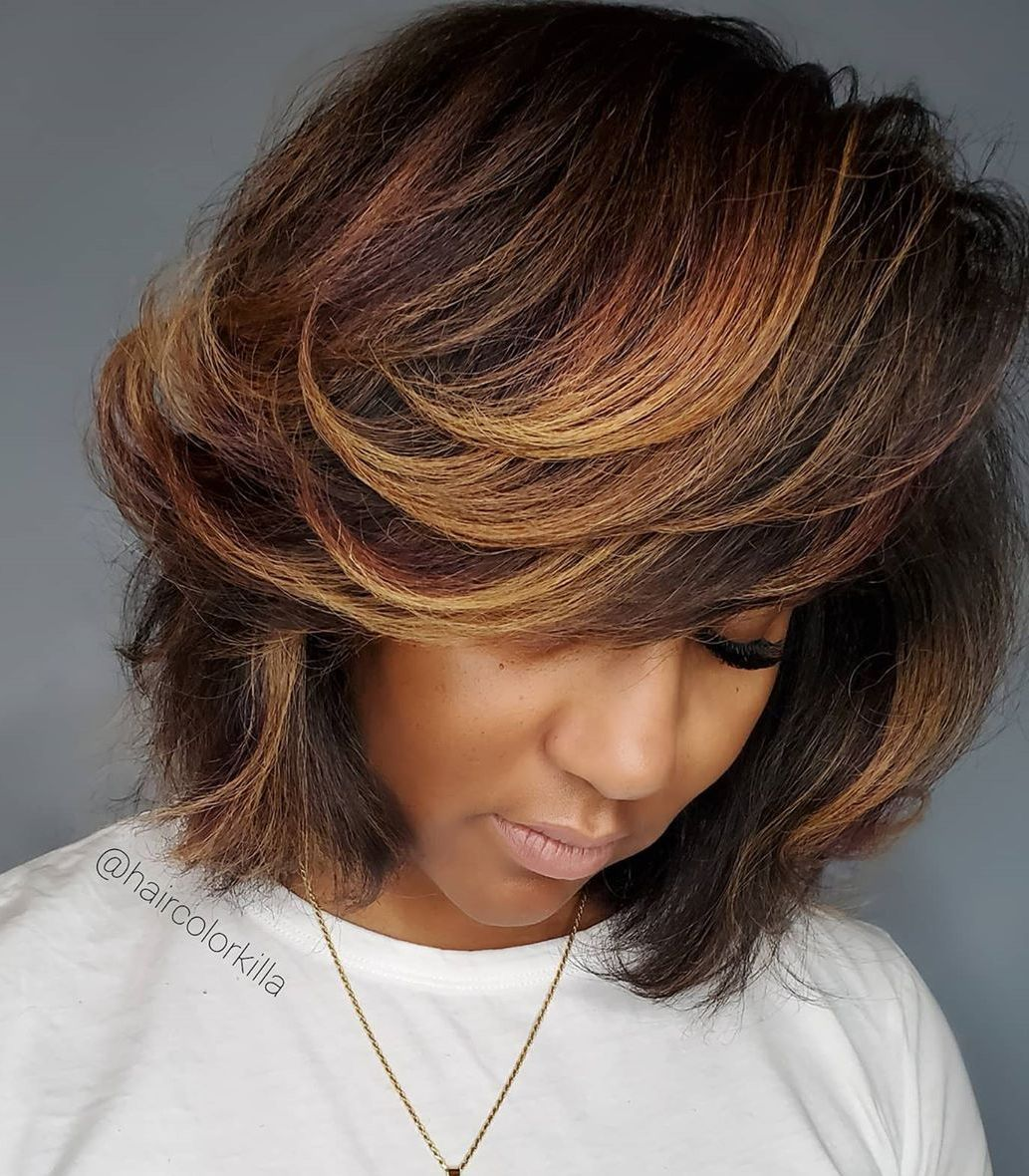 Hair Colors For Dark Skin To Look Even More Gorgeous Hair Adviser In 2020 Hair Color For Dark Skin Brown Hair For Dark Skin Brown Hair Dark Skin