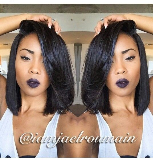 Bob Hair Style For Black Women 2017 Summer With Images Wig