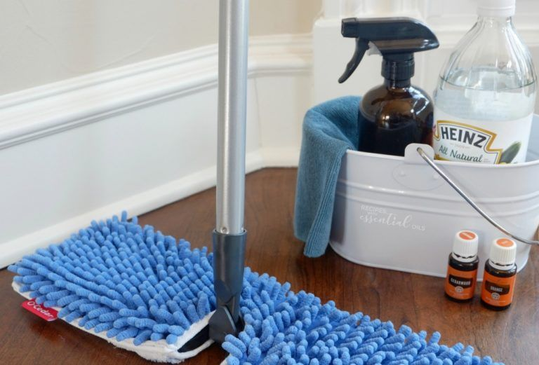 Make Your Own Organic Wood Safe Floor Cleaner With