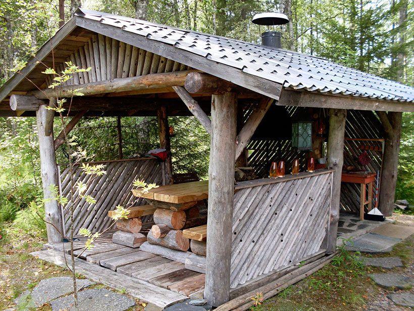 Google Images Wood Cabin : Kesäkeittiö vanhoista ikkunoista google haku bål plads