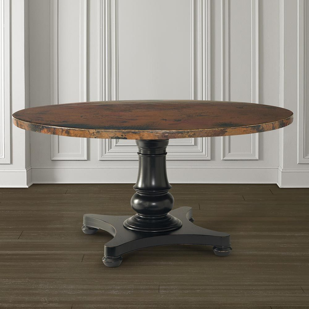 [ Custom Dining Quot Round Copper Table Top ]   Best Free Home Design Idea  U0026 Inspiration