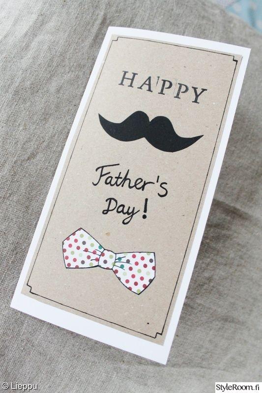 kortti,diy,tee itse,itsetehty,isänpäivä